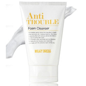 Milkydress Anti Trouble Foam Pore Cleanser, Sebum Control, 100ml