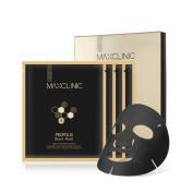 [MAXCLINIC] Propolis Black Facial Mask 20ml x 4ea