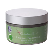 Celadon Road Mineral Mud Mask Lavender Peppermint MADE IN USA Organic Ingredients. Clarifies Acne Breakout Spot Treatment, Anti-Ageing Face & Skin 100ml