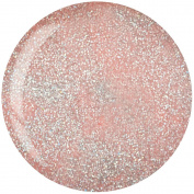 Light Pink w/ Rainbow Glitter