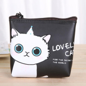 AutumnFall Cute Cat Fashion Coin Purse Wallet Bag Change Pouch Key Holder