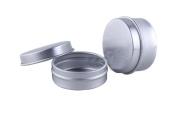 12PCS 10ML/20ML Aluminium Bottle Cream Jar Pot Gloss Lip Tin Case Sample Container for DIY Nail Art Makeup Cosmetic