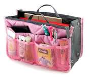 Top McKinley Portable Multifunctional Travel Bag Wash Bag Pink