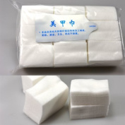 900pcs/pack Nail Art Tips Manicure Polish Remover Cleaning Wipe Cotton Pad Paper Set
