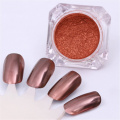 BORN PRETTY 2g Rose Gold Mirror Powder Manicure Nail Art Glitter Chrome Pigment