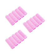 BeautyN 15P x 18mm(Small Size) Self Grip Hook and loop Hair Rollers Hair Culers