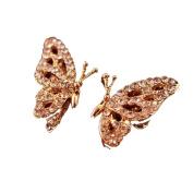 Earrings, Hatop New Fashion Women Lady Elegant Butterfly Rhinestone Earrings