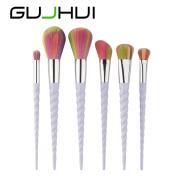 Sagton 6PCS Make Up Foundation Eyebrow Eyeliner Concealer Blush Cosmetic Blush Power Blush Kit Set