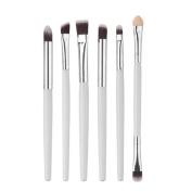 Toraway 6PCS Cosmetic Makeup Brush Lip Brush Eyeshadow Brush Make Up Tool