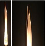 Rev Gold Straight Tweezer Pro Volume for 6D Eyelash Extension By PINKLAB