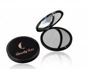 Compact Mirror For Purses - Compact Mirror Magnifying Travel Mirror 3x Magnifying Double Side Glass 7.6cm . Perfect Purse & Pocket Mirror