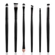 Tenworld 6PCS Cosmetic Makeup Brush Lip Makeup Brush Eyeshadow Brush