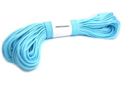 WINGONEER 550 Luminous Glow in the Dark Paracord Mil Spec Type III 7 strand parachute cord Blue10m