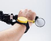 Myklops Wrist Mounted Folding Cycling Mirror