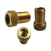 Raleigh Brass Pump Connector Adaptor (Presta to Schrader)