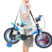 One Weight lifting Shoulder Carrying Strap for Kids Balance Bike, Scooter, Foldable bike