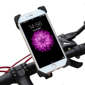 Phone Holder,Bike Mount,Visun Universal Cell Phone Bicycle Handlebar & Motorcycle Holder Cradle with 360 Rotate for iPhone And All Android phone Google Nexus 5 4 and GPS Device Up to 9.4cm wide
