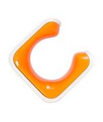 Clug - Roadie Storage Mount , White/Orange, One Size