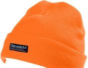Yoko Orange Unisex Hi-Vis Beanie Hat with Thermal 3M Thinsulate Lining