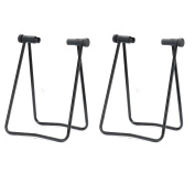 Set Of 2 Bicycle HUB Folding Portable Display Stand For 50cm - 70cm wheels