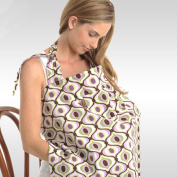 Meteory Multifunction Portable Nursing Cover Cloth BreastFeeding Skirt Lactating Towel For New Born Front Baby, Breastfeeding Babies With Privacy Neckline