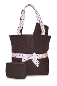 Quilted Nappy Bag Tote X-Large