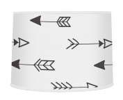 Arrow Print Boys or Girls Baby Childrens Lamp Shade for Black and White Fox Collection