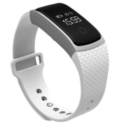 Smart Watch,Tuscom@ A09 Bluetooth NFC Wireless HD Heart Rate Smart Watch (120 Milliamperes)For Android IOS