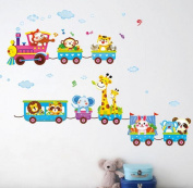 Singleluci Removable Carton Kids Baby Nuresery Wall Stickers Wall Decal Room Decor