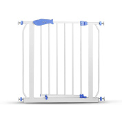 Safety Gate,ZYooh Metal Multifunction Easy Open Baby Gate Children Security Product Use in Doorway Staircase