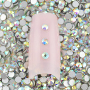 Beauties Factory Clear Aurore Boreale (Rainbow) Nail Art Crystal Rhinestone x 1440pcs (SS 8