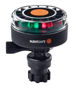 Navisafe 340 Tricolour Navigation light with Navimount Base, 2NM