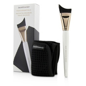 Mask Essentials - Smoothing Brush And Removal Cloth, 2pcs