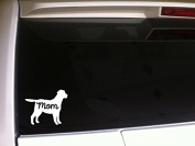 Lab Mom 15cm Decal Vinyl StickerP81 Pets Animals Puppies Dogs Family