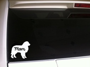 Great Pyrenees Mom 15cm Decal Vinyl StickerP77 Pets Animals Country Farm Sheep