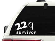 T104 22q Survivor Decal Sticker