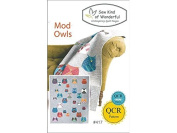 Sew Kind Of Wonderful QCR Mod Owls Ptrn