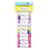 Butterfly 10yd Sample Multi Pack - FOE Grab Bag - 1.6cm Fold Over Elastic