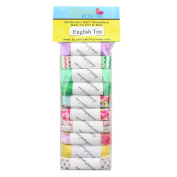 English Tea 10yd Sample Multi Pack - FOE Grab Bag - 1.6cm Fold Over Elastic