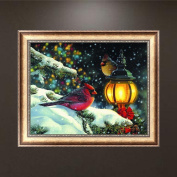 40x32CM Bird 5D Diamond Embroidery Painting DIY Cross Stitch Kit Home Wall Decor