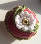 PinCushion ~ Crochet Flower ~ Ravenz Roost hand made item