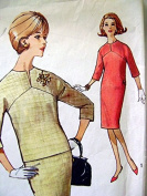 Simplicity # 5277 Misses One and Two Piece Dresses Sewing Pattern Size
