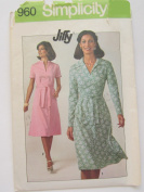 Simplicity # 7960 Misses Dress Sewing Pattern Size