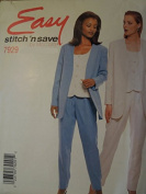 McCall's # 7929 vest, jacket, pants Sewing Pattern Size