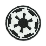 Star Wars Imperial Forces 8.1cm Logo Sew Ironed On Badge Embroidery Applique Patch