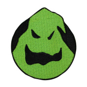 Oogie Boogie Bogeyman Logo Iron-On Patch Nightmare Before Christmas Fan Applique