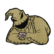 Oogie Boogie Nightmare Before Christmas Character Craft Iron-On Applique Patch