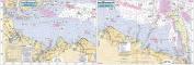 Raritan Bay to Sandy Hook, NJ - Laminated Nautical Navigation & Fishing Chart by Captain Segull's Nautical Sportfishing Charts | Chart # RSH363