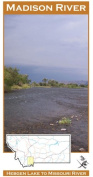 Madison River 11x17 Fly Fishing Map