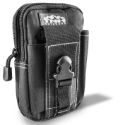 Cell Phone Molle Waist Pouch by TNH Outdoors - Support a START UP! - Small Hip Or Leg Gear Holster - Tactical Gadget Mag or Ammo Holder Bag